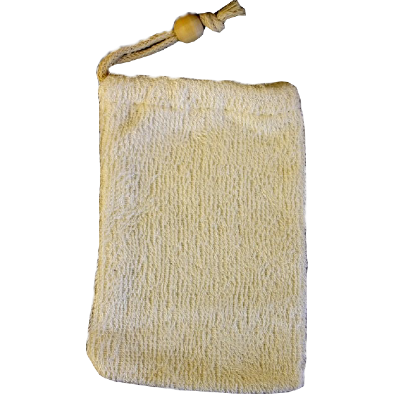 Natural Bamboo Body, Face and Soap Mitt