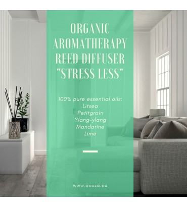 "Organic reed diffuser ""Stress Less"""