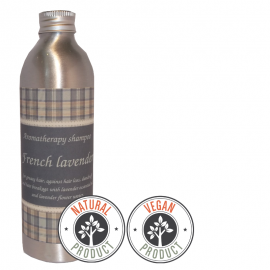 "Sulfate-free shampoo against hair loss and dandruff ""French Lavender""  for greasy hair"