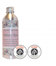 "Sulfate-free shampoo against hair loss ""Winter Rose""for all hair types"