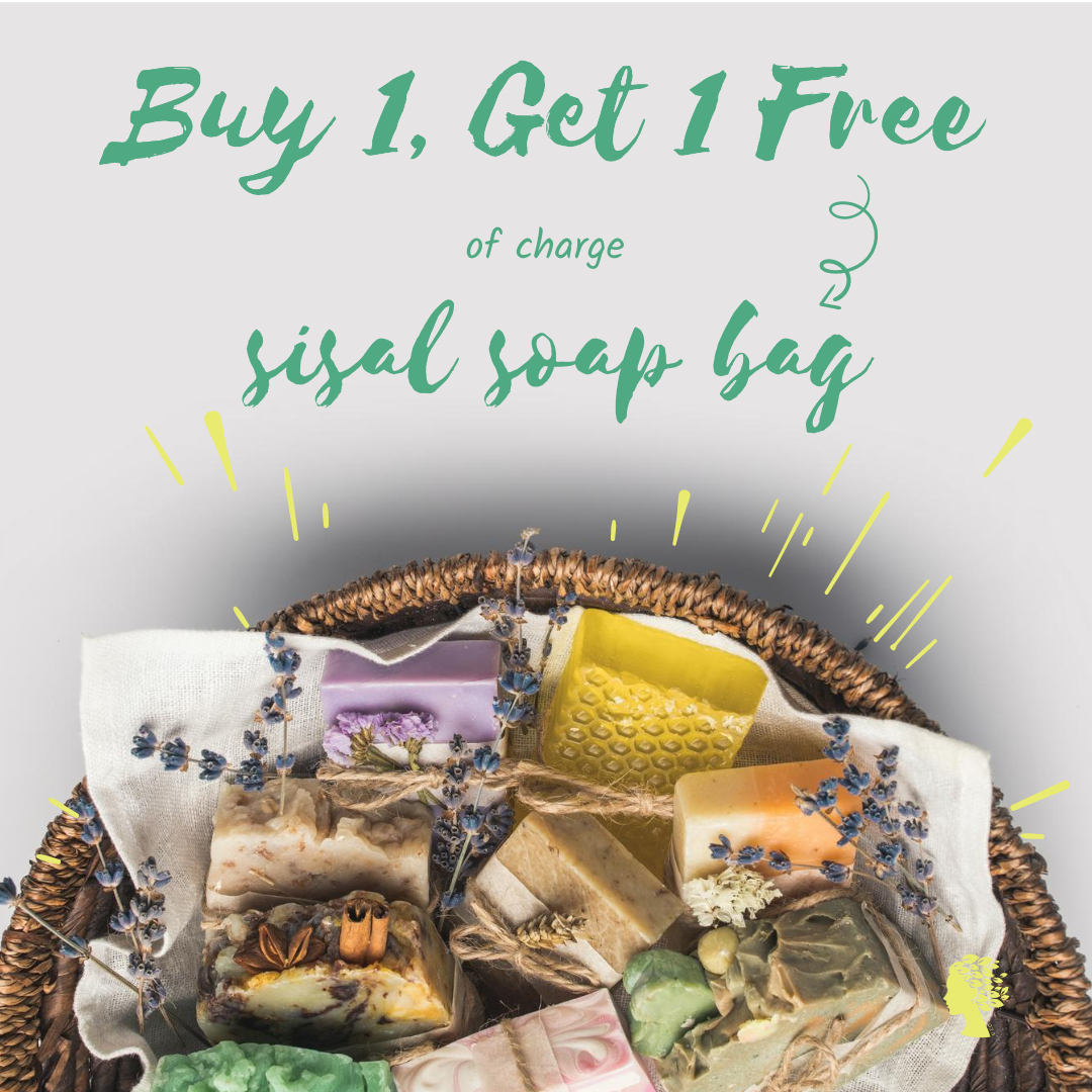 Offer ( free of charge sisal soap bag )  from 21.06. till 28.06.